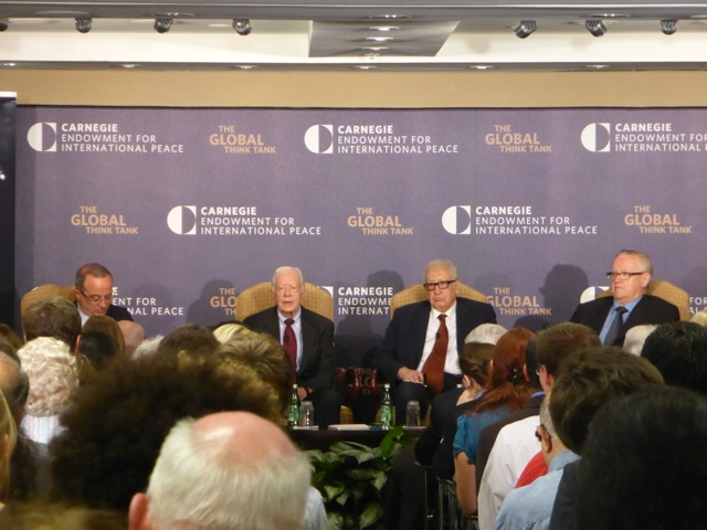Jimmy Carter at Carnegie